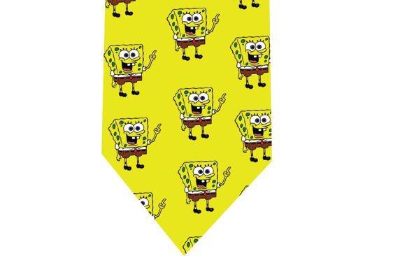 Sponge Bob Tie - Model 4