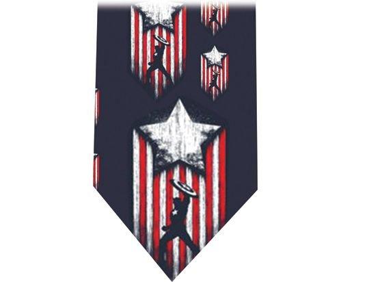 Captain America Tie - Model 3
