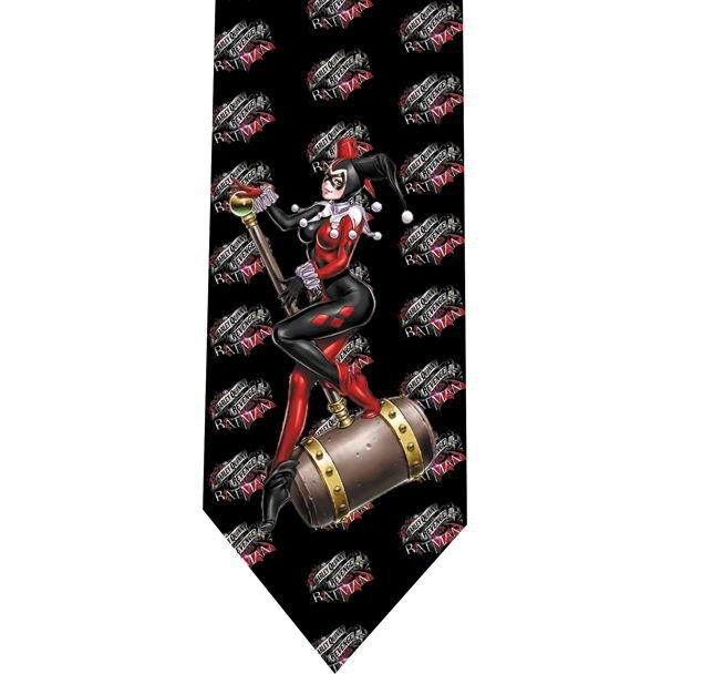 Harley Quinn Tie - Model 5 - Batman