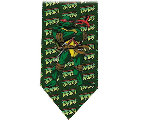 Ninja Turtles Tie - Model 5 - Raphael