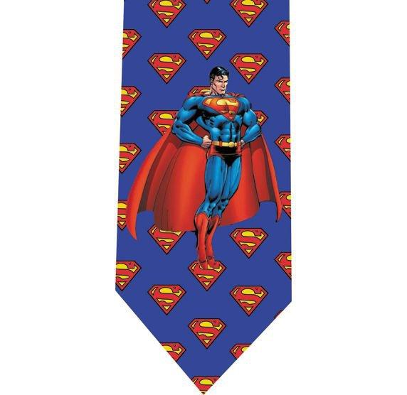 Superman Tie - Model 5