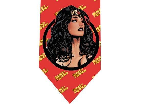 Wonder Woman Tie - Model 2