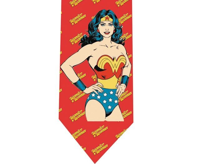 Wonder Woman Tie - Model 4