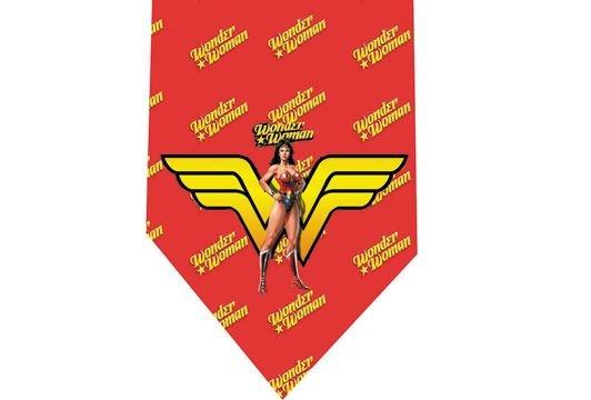 Wonder Woman Tie - Model 6