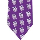 Check Meow Cat Tie - Model 2