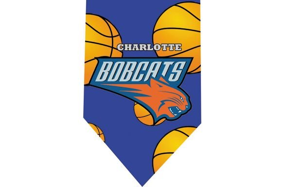 Charlotte Bobcats Tie - Basketall USA