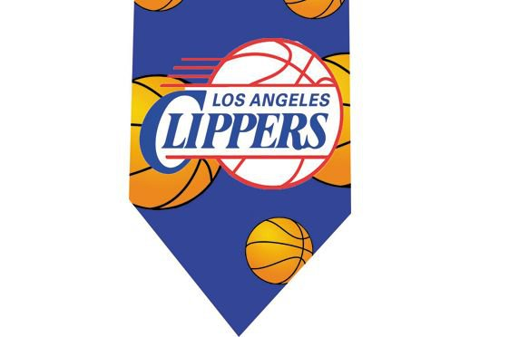 Los Angeles Clippers Tie - Basketall USA