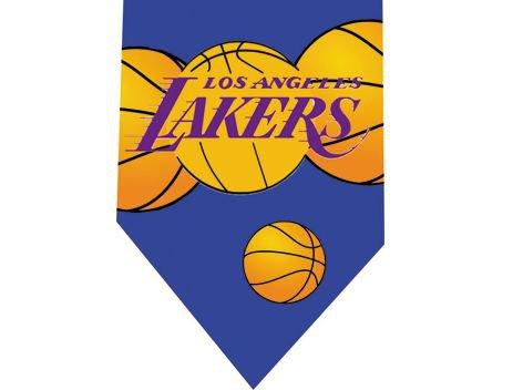 Los Angeles Lakers Tie - Basketall USA