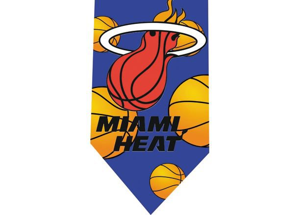 Miami Heat Tie - Basketall USA