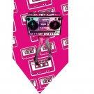 80s Legs Tape Tie - Retro