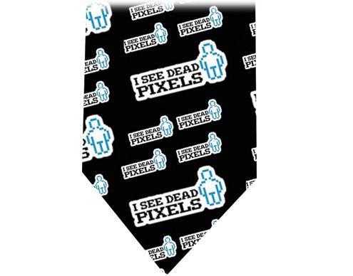 I see Dead pixels Tie - Retro