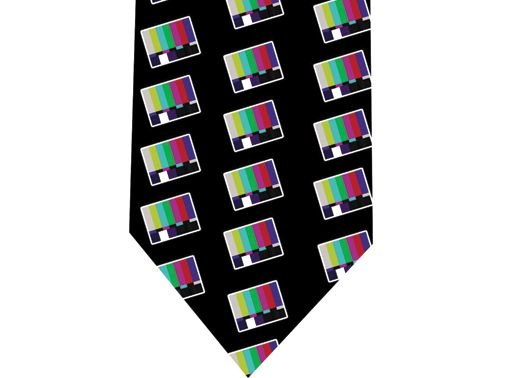 80s TV Tie - Retro - model 1