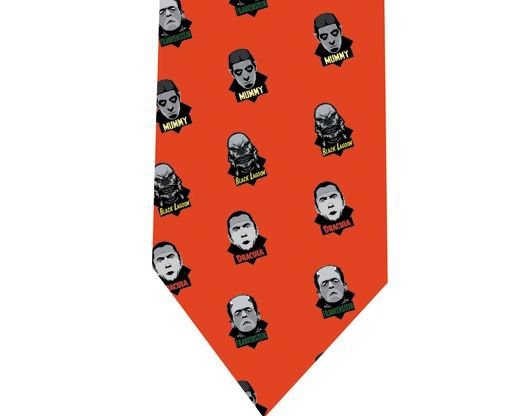 Monsters Pop - Horror Tie
