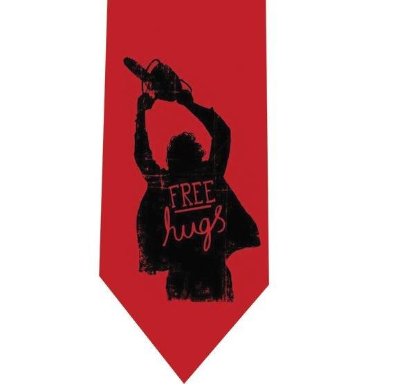 Free Hugs Tie - Funny Horror - model 1