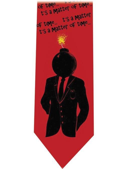Head bomb Tie - Funny tie