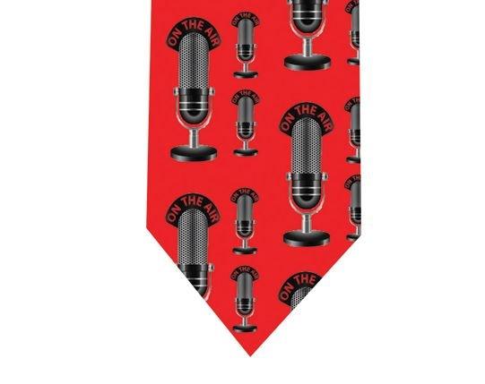 Radio Microphone Tie - Model 2