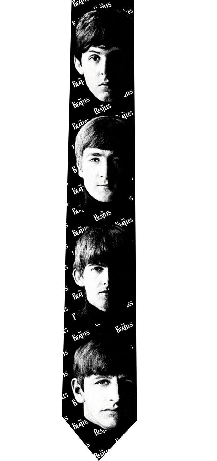 Beatles Tie - John Paul Ringo & George