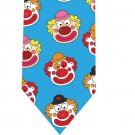 Clown Tie - Model 2 - cyan