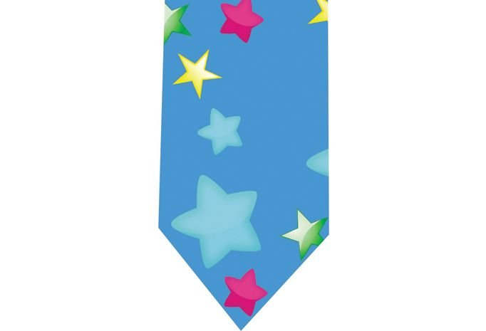 Clown Tie - Model 4 - stars