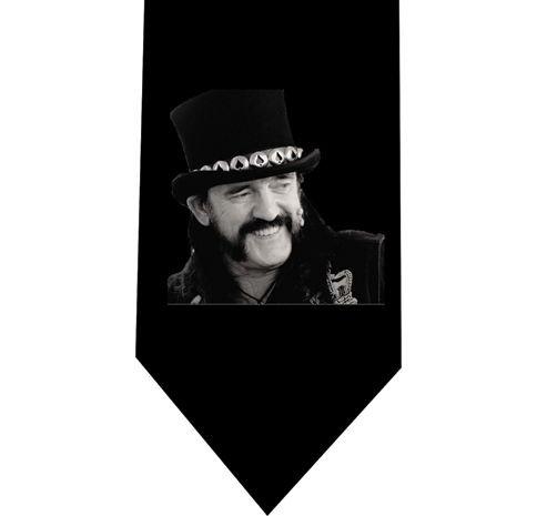 Motorhead Lemmy Kilmister Tie - Model 2