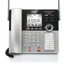 VTech CM18445 Main Console - DECT 6.0 4-Line Expandable Small Business Office Phone