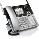 VTech CM18445 Main Console - DECT 6.0 4-Line Expandable Office Phone with Answering System