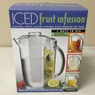 Prodyne ICED Fruit Infusion Pitcher, Clear