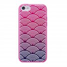 Agent 18 Shockslim Cover for iPhone 5c - Scallops