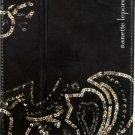 Nanette Lepore - Folio Hard Case for Apple® iPad® mini, iPad mini 2 and iPad mini 3 - Black/Gold