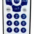 Gmatrix Large Button Universal Waterproof Remote Control - Vizio LG Sharp PC-1302AL