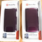 Xtrememac Microshield Metallic Finish Case For Ipod Touch 4th Gen PURPLE