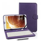 Kamor 9 PU Leather Stand Case Micro USB Keyboard  for 9 inch Android Tablet