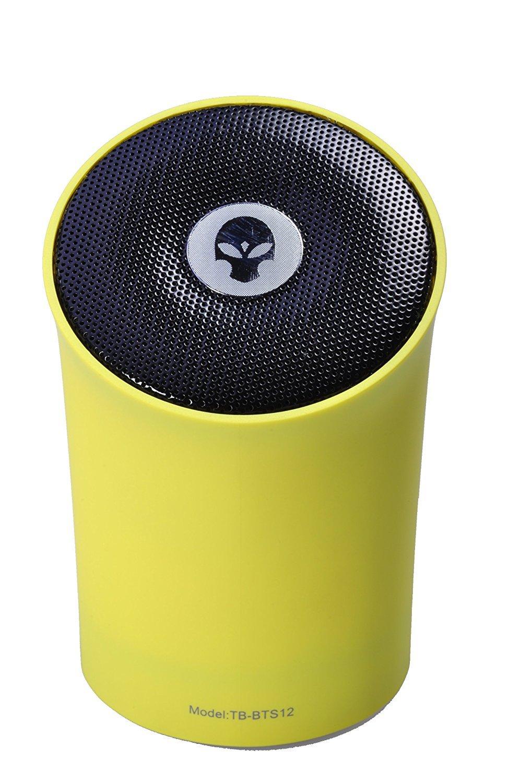 Tosa Cone Bluetooth Speaker Yellow