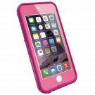 "LifeProof FRE iPhone 6 ONLY Waterproof Case (4.7"" Version)  - POWER PINK (LIGHT ROSE/DARK ROSE)"