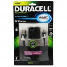 Duracell Pro AC Charger w/ Micro Sync & Charge Cable (PRO188)