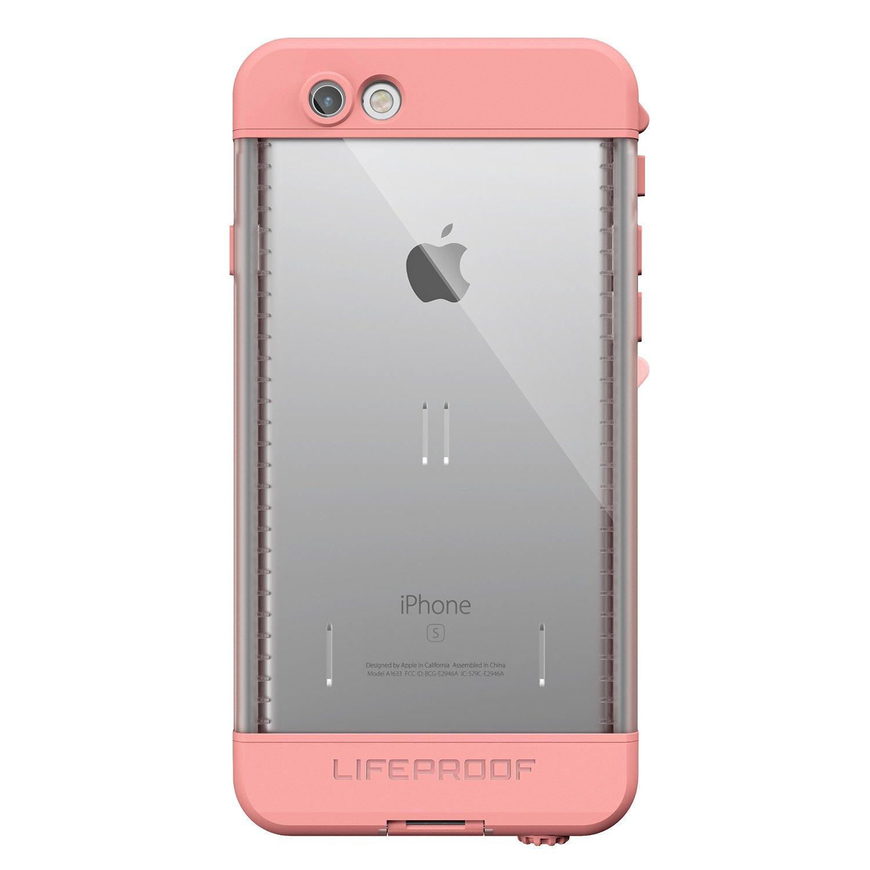 LifeProof Nüüd Case for iPhone 6s plus- Pink/First Light