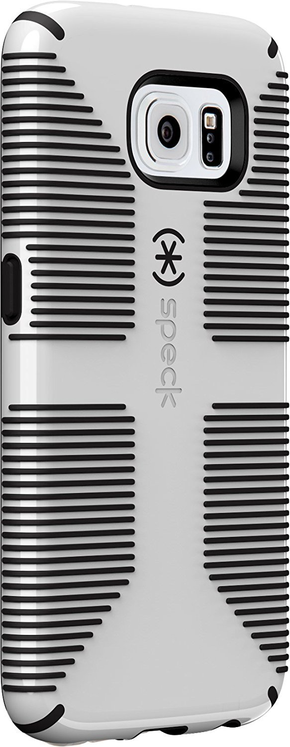 Speck Products CandyShell Grip Case for Samsung Galaxy S6 Edge - white/black