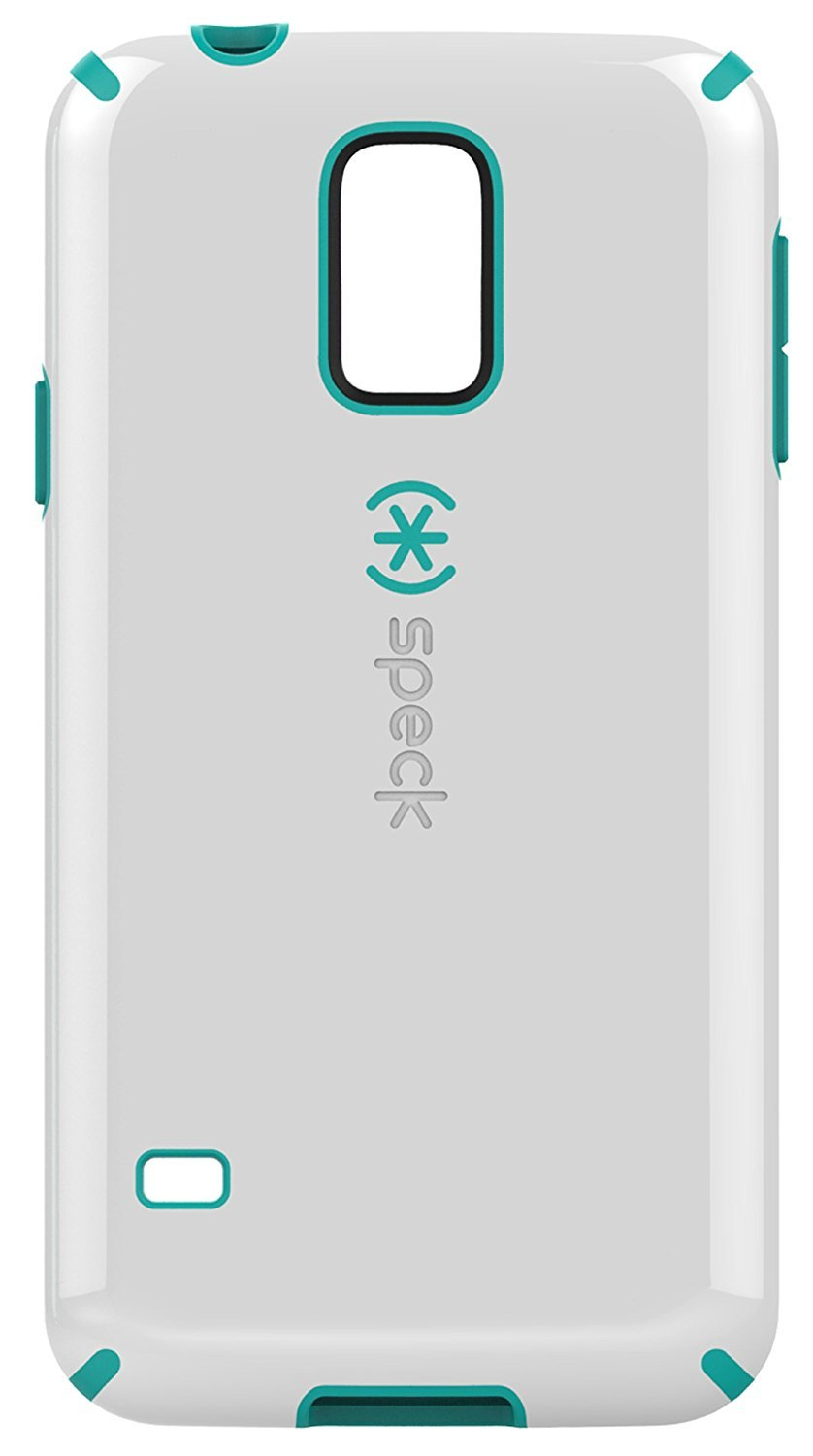 Speck Products Samsung Galaxy S5 CandyShell Case - White/Caribbean Blue
