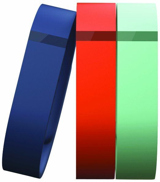 Fitbit Flex Wristband Accessory 3 Pack Large Navy, Teal and Tangerine