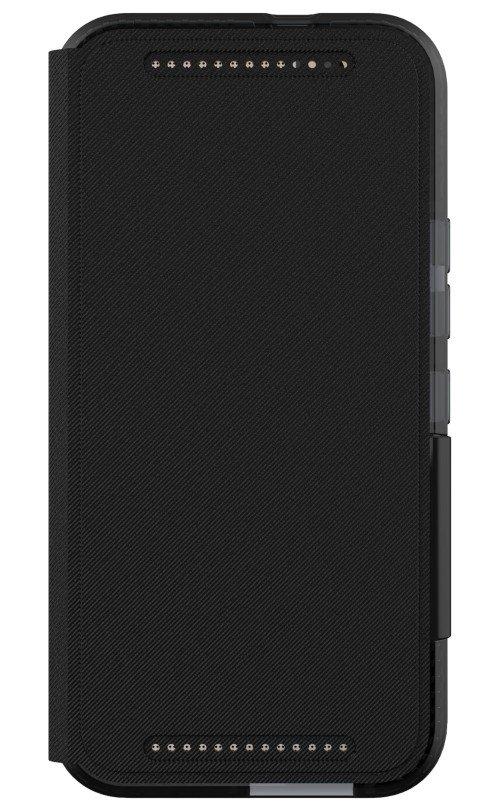 Tech21 Evo Wallet Folio Case for HTC One M9 Black