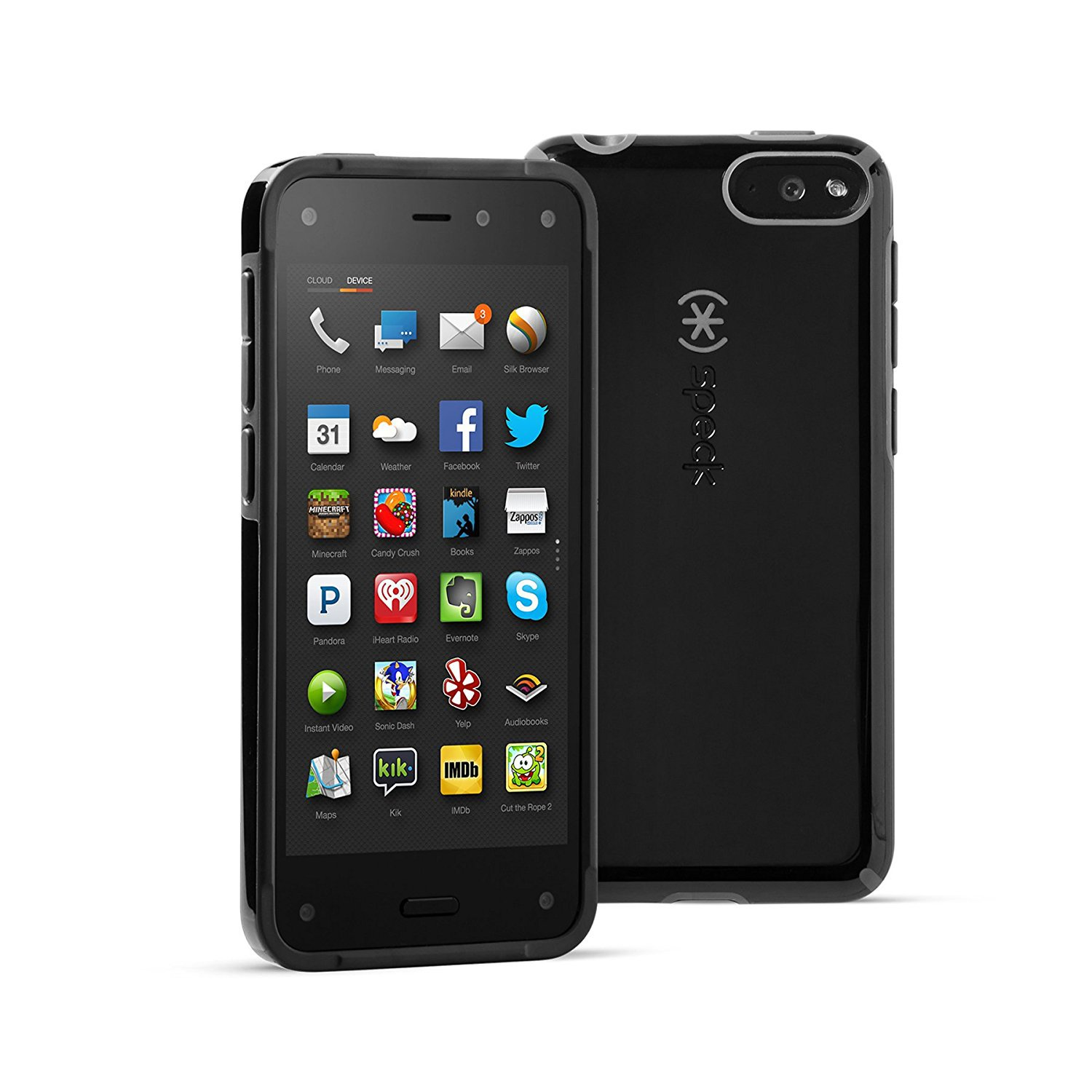 Speck CandyShell Case for Fire Phone, Black