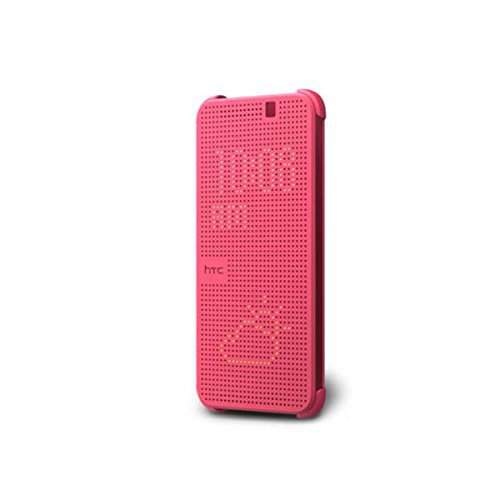 HTC Dot View Case for HTC One M9 - Pink