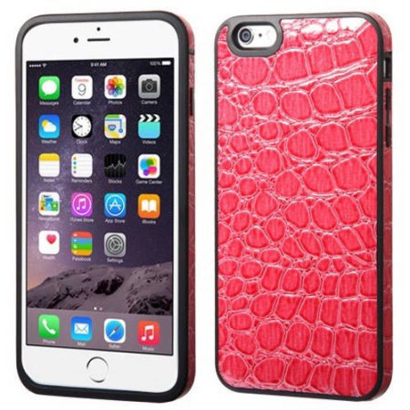 Apple iPhone 6 Plus/iPhone 6S Plus MyBat Leather Backing Candy Skin Cover