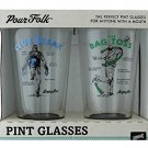 Pour Folk Pint Glasses by 30 Watt - Club break and Bag Toss