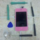 CDMA Pink LCD for iPhone 4 4G Display Screen Touch Digitizer Assembly Frame US