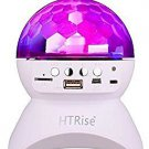 HTRise Music Controlled Lights with Wireless Bluetooth Speakers, Disco Ball