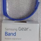 Original Samsung Galaxy Gear Fit Replacement Strap / Bracelent Band - Blue