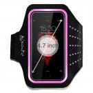 Sports Armband ActionPie Armband for iPhone 6/6S (4.7-Inch) PINK/BLACK