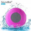 SoundBot SB510 HD Water Proof Bluetooth 3.0 Speaker - PINK