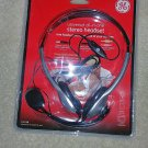 GE 11657 universal all in one stereo headset
